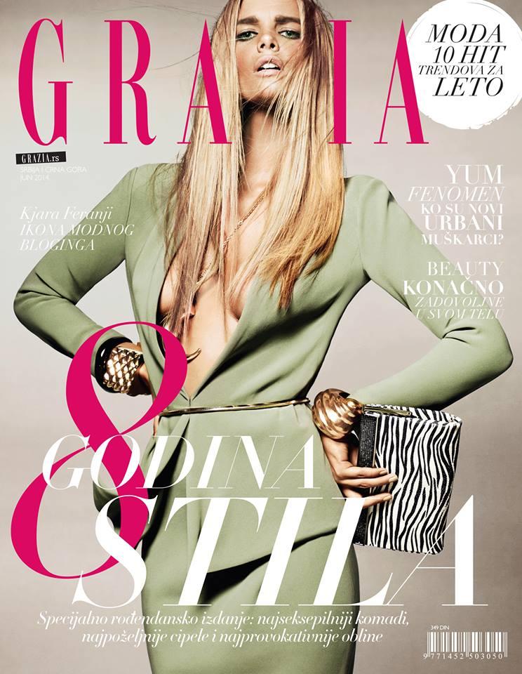 Grazia Serbia 2014-6 COVER