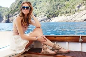 Chiara Ferragni Van Cleef and Arpels Isabel Marant Msgm skirt Prada sunglasses