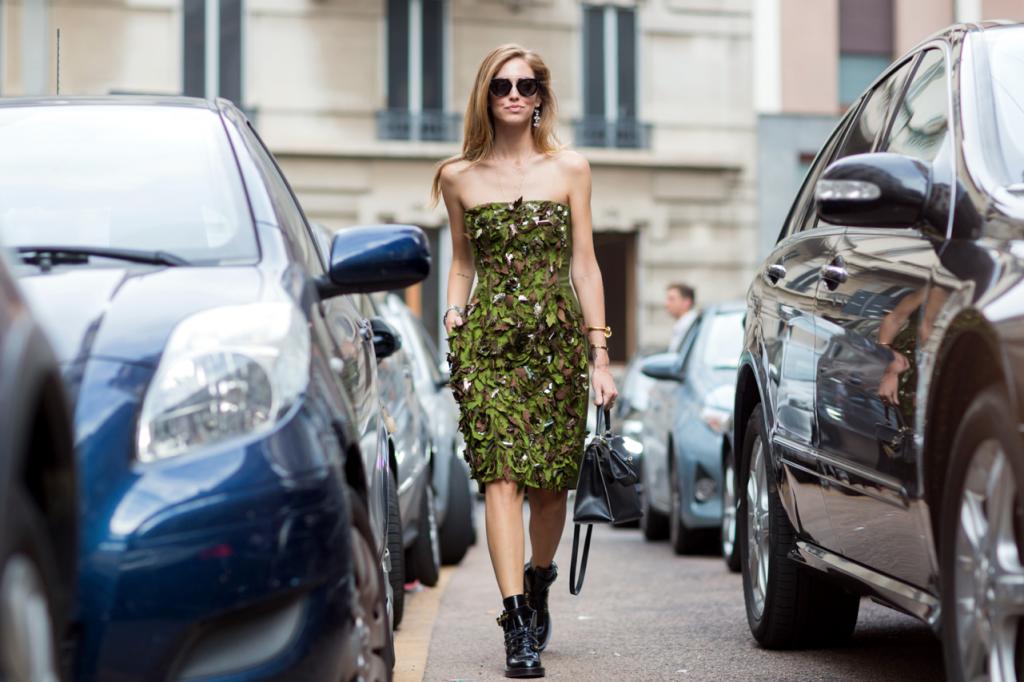 Chiara Ferragni MFW Streetstyle