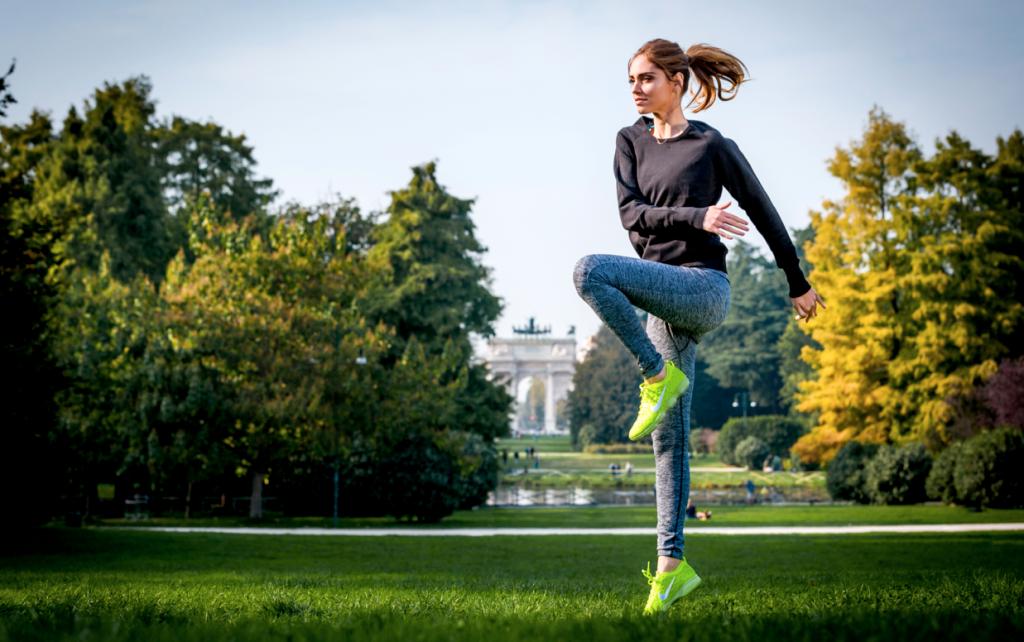 Chiara Ferragni Nike Milano 1