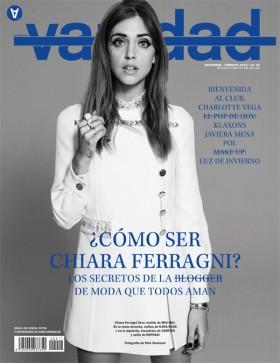 Chiara Ferragni Vanidad Magazine cover