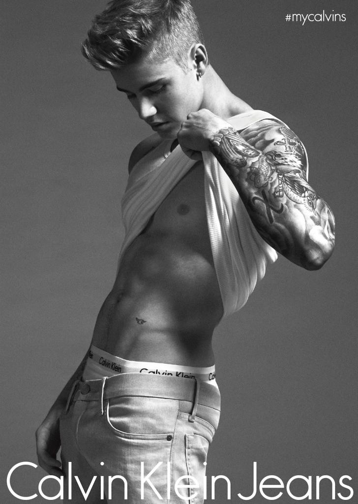 Justin Bieber ad
