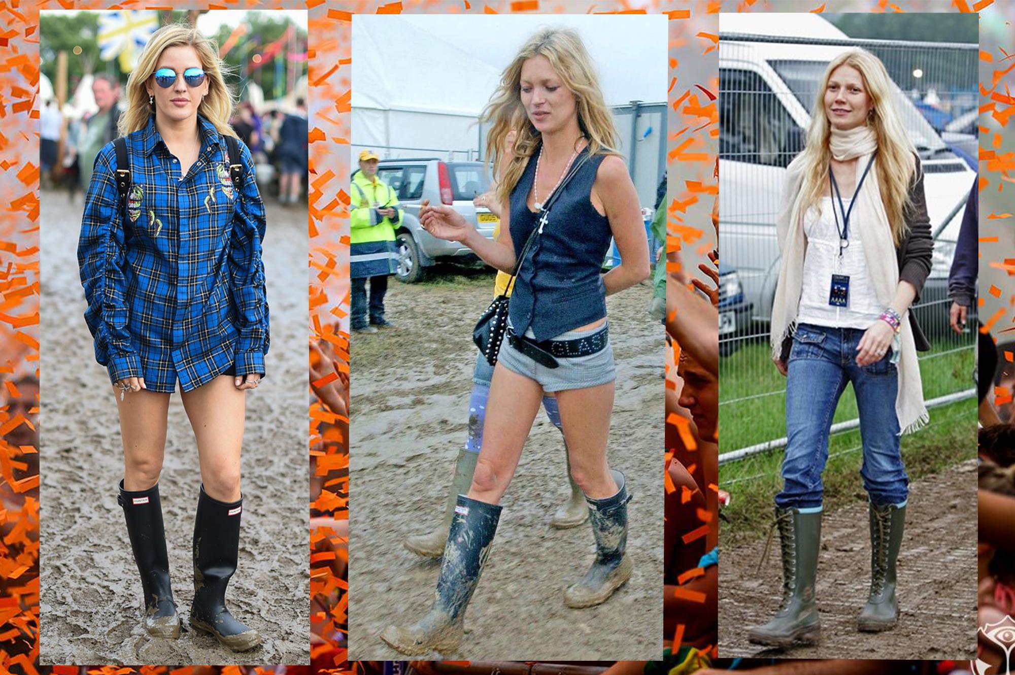 Rubber Boots How Celebrities Wear Wellies At Summer Festivals The Blonde Salad Bloglovin