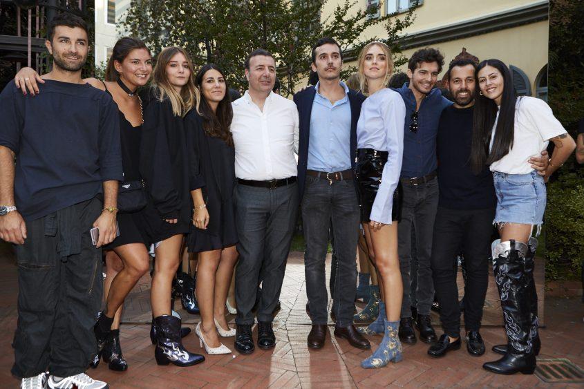 Chiara Ferragni team